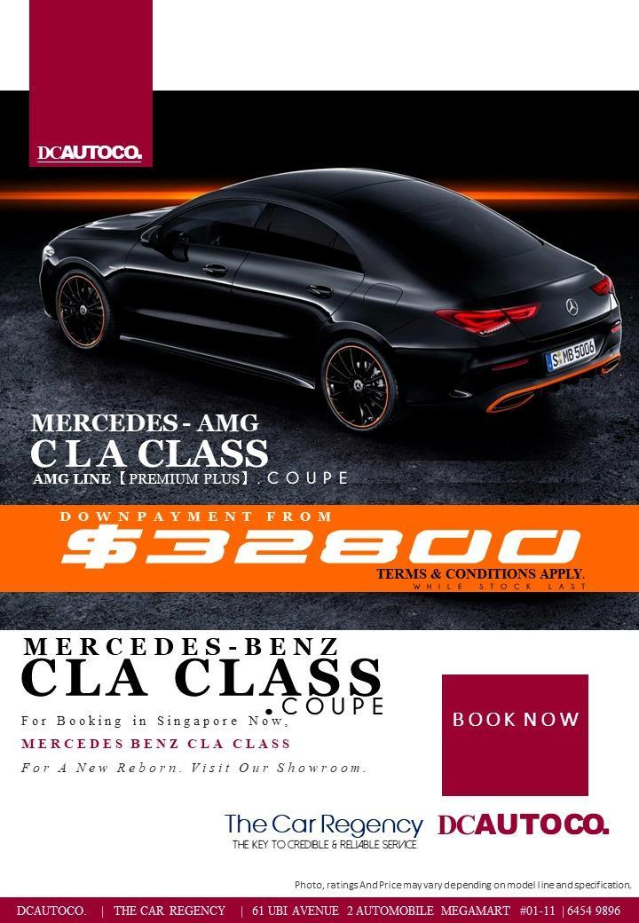🆕2019 CLA200 Class AMG Line Premium Plus Mercedes Benz **tag CLA250 CLA180 CLA200 CLA 200 180 250