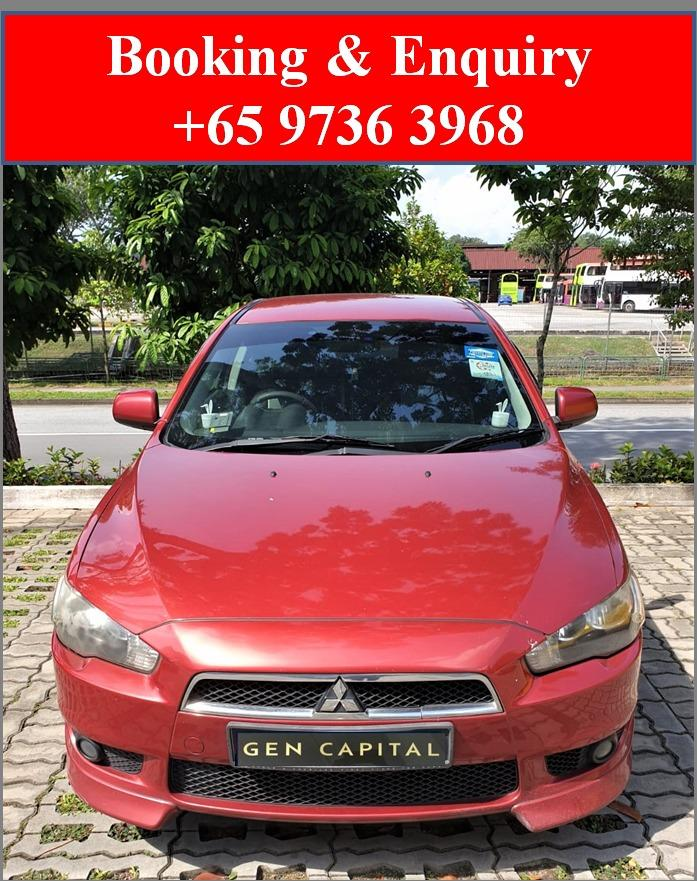 Mitsubishi Lancer EX 1.5A *Best rates, full servicing provided!
