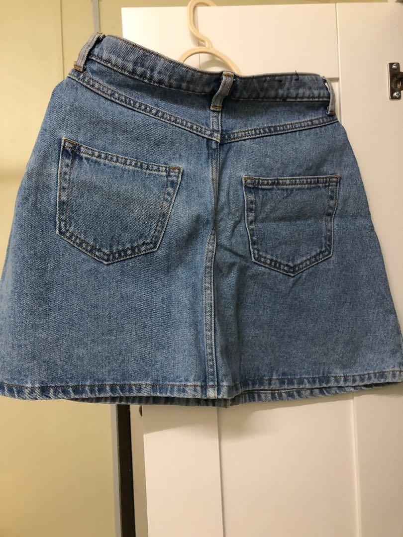 Monki Denim Skirt