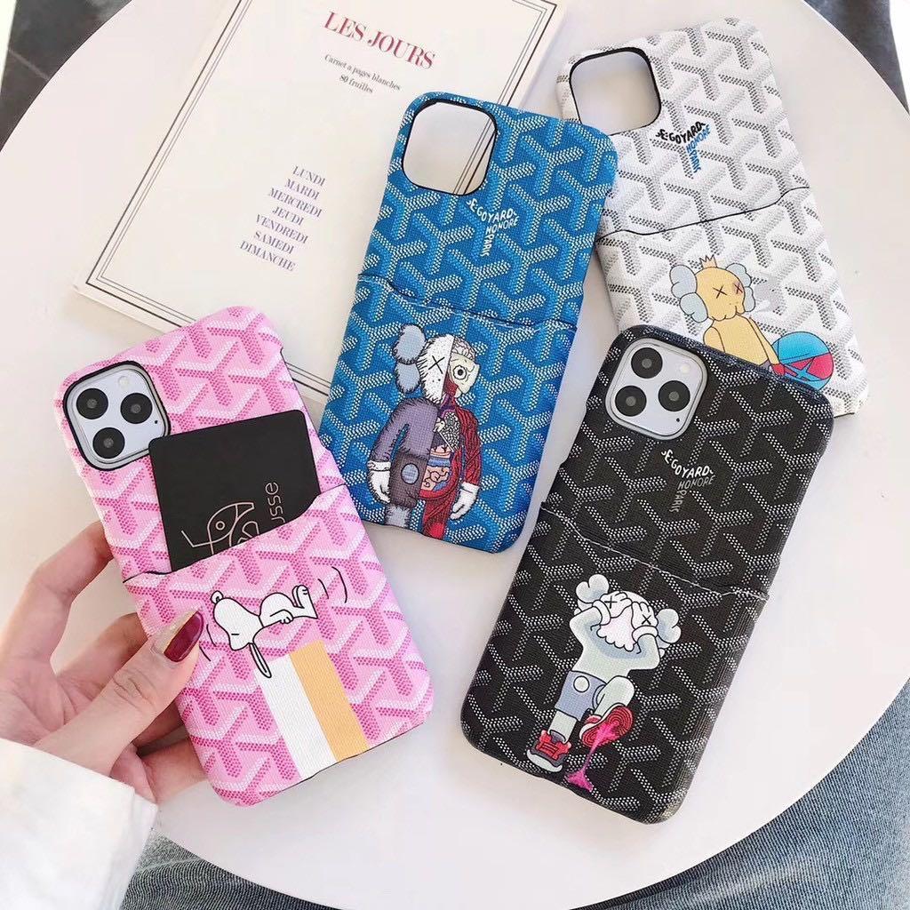 [P.O] Iphone 11 Kaws x Goyard Case