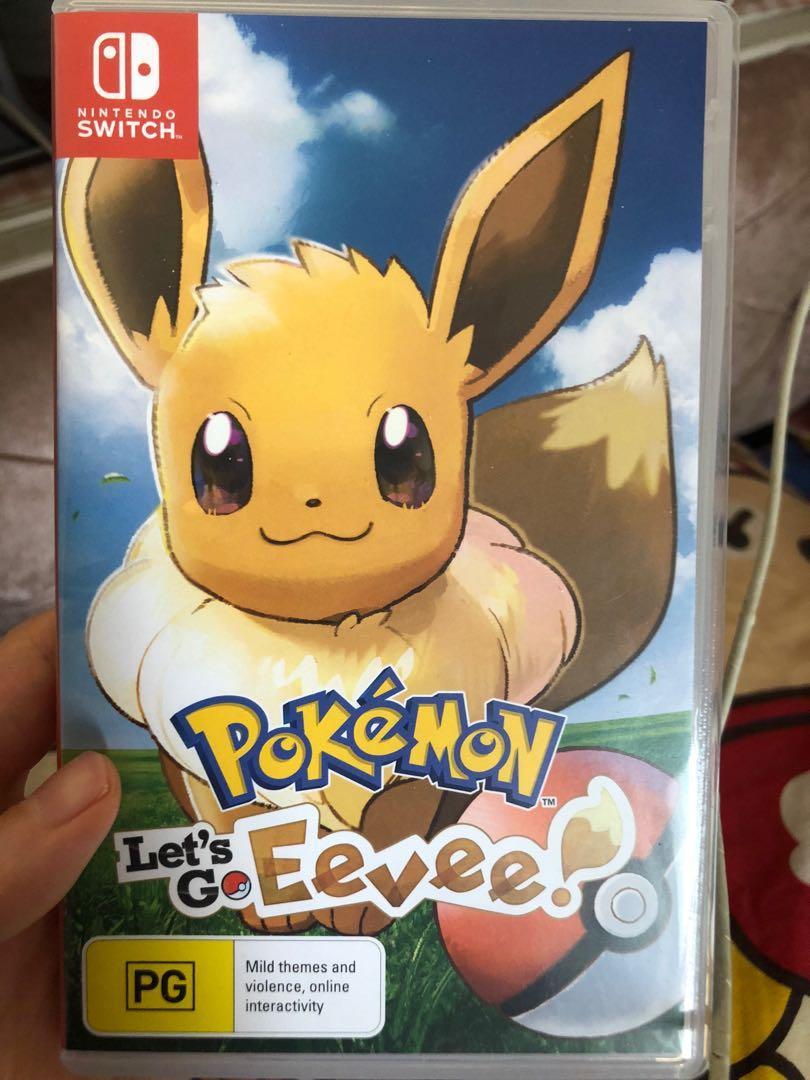 Pokémon let's go伊貝 switch