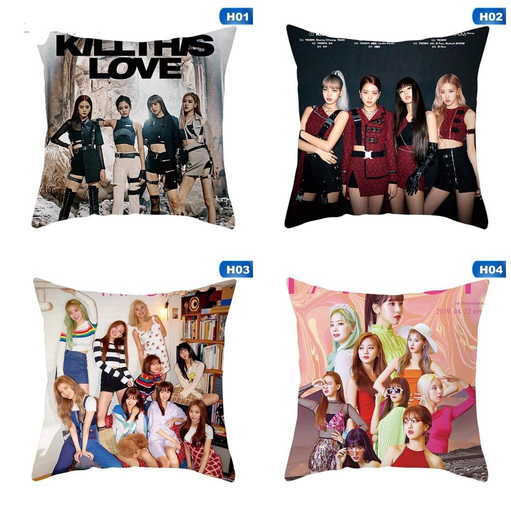 [PREORDER] BLACKPINK/TWICE Pillow Case Cushion Cover