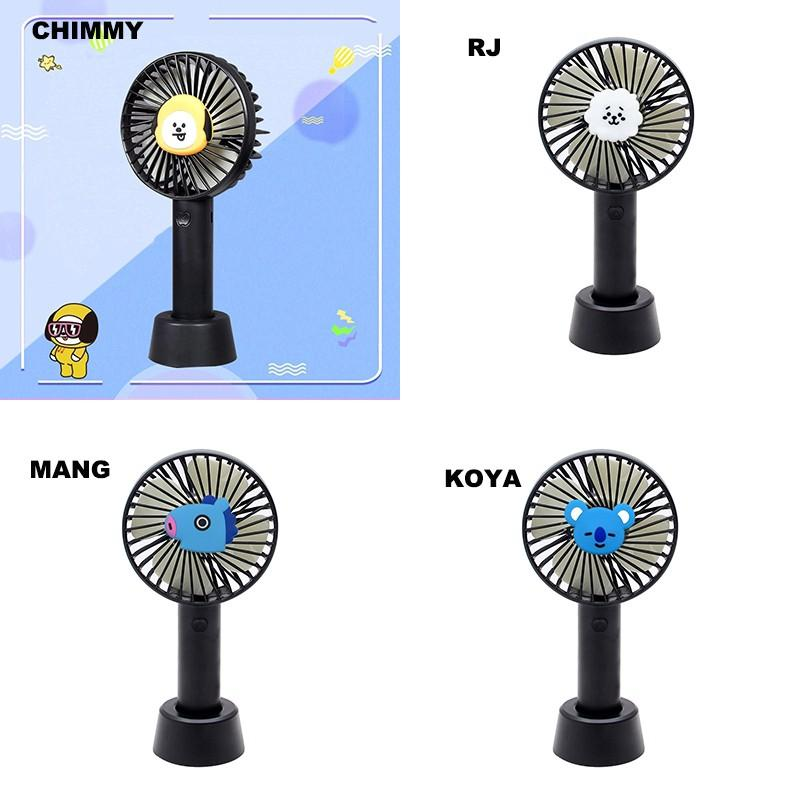 [PREORDER] BTS BT21 Portable USB Rechargeable Mini Hand-Held Fan