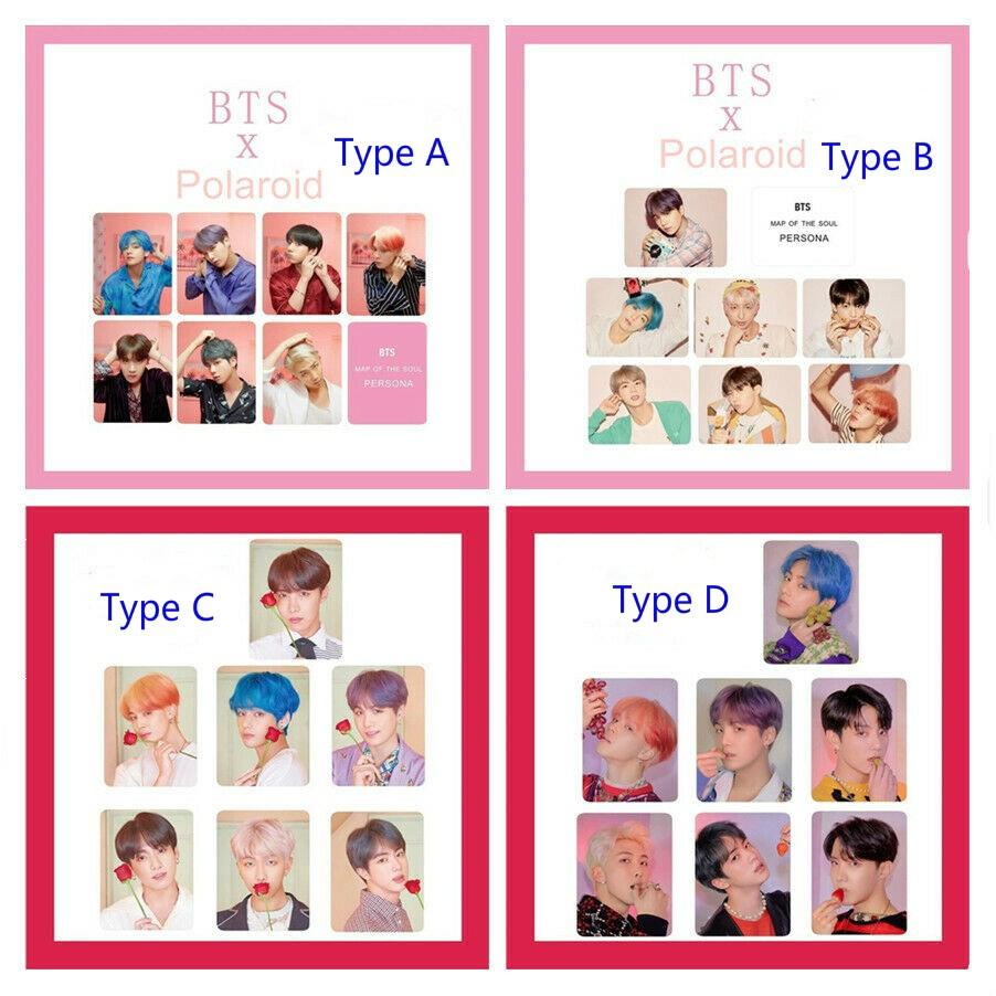 [PREORDER] BTS Map of The Soul: Persona Polaroid Photocard