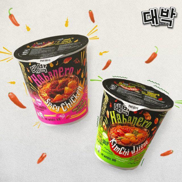 (PREORDER) Habanero 🔥 Spicy Chicken & Kimchi Jigae Daebak Noodles