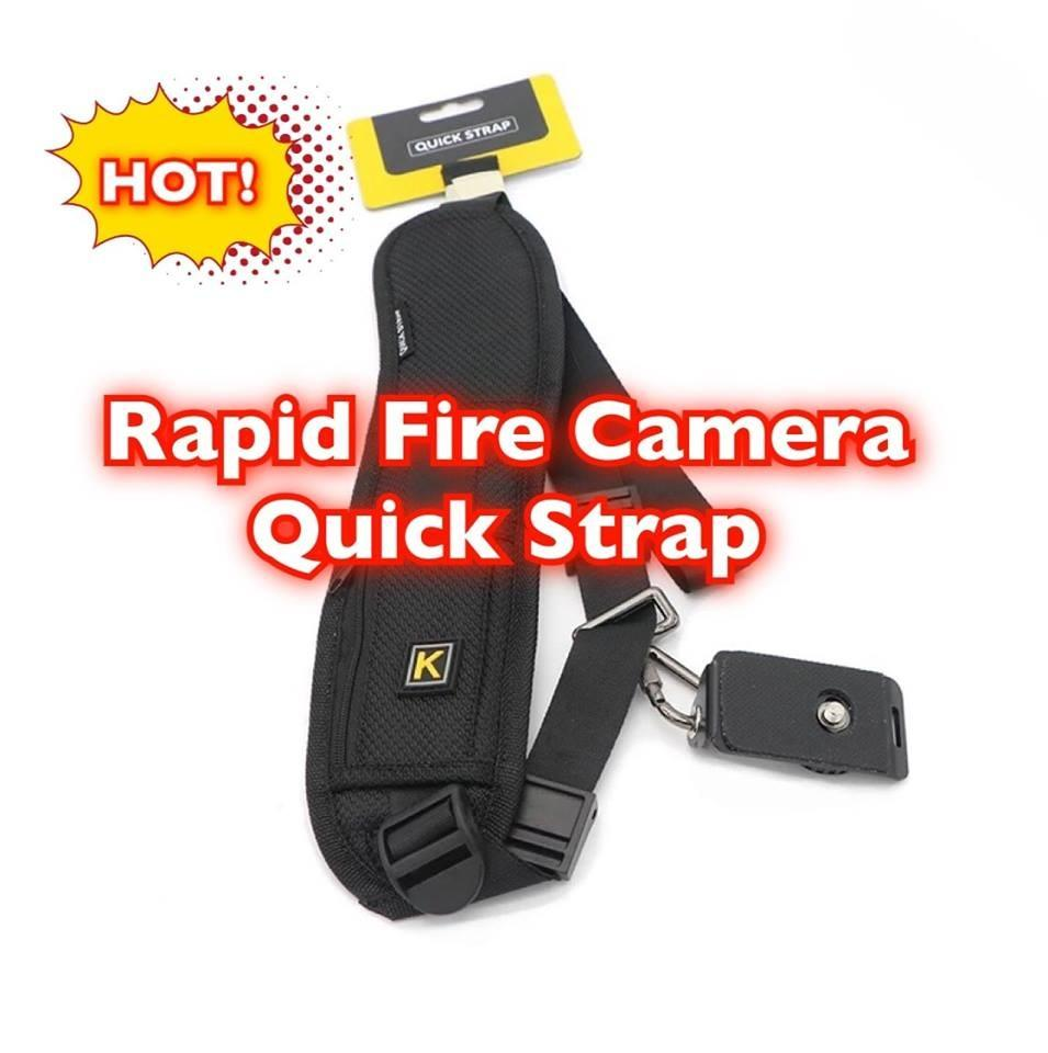 Rapid Fire Camera Quick Strap for Any Kinds of Cameras