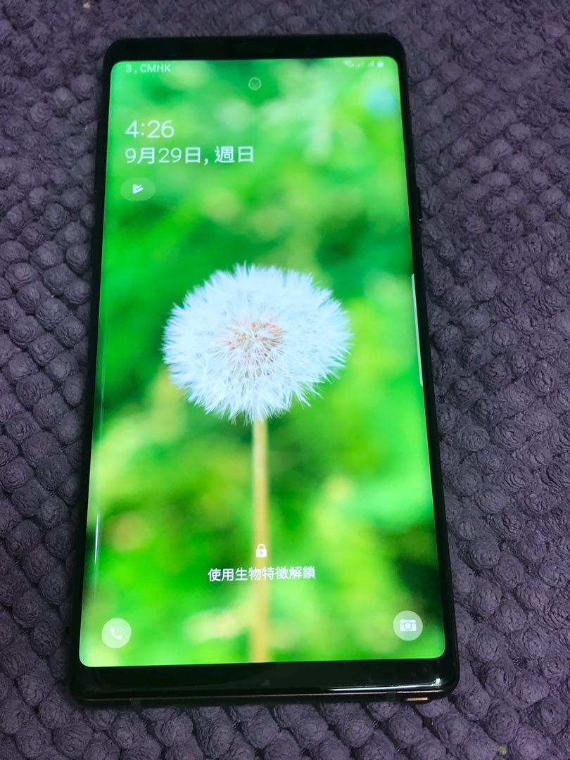Samsung Galaxy Note9 雙卡 Dual-SIM  金銅色 6+128 可以加錢換華為mate20 pro或 P30 pro