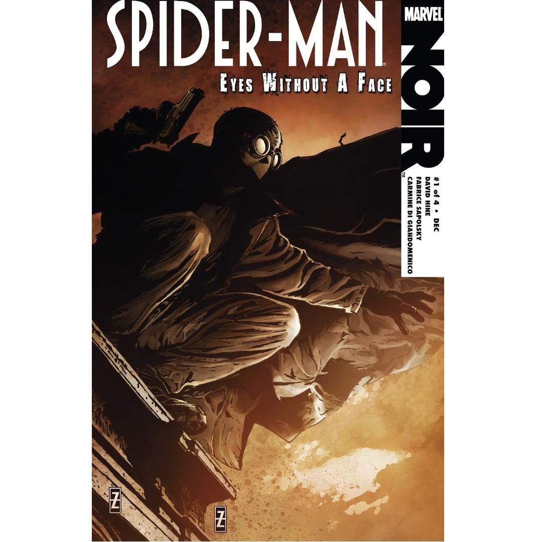 Spider-man Noir: Eyes Without a Face #1 (2009). Marvel Comics.