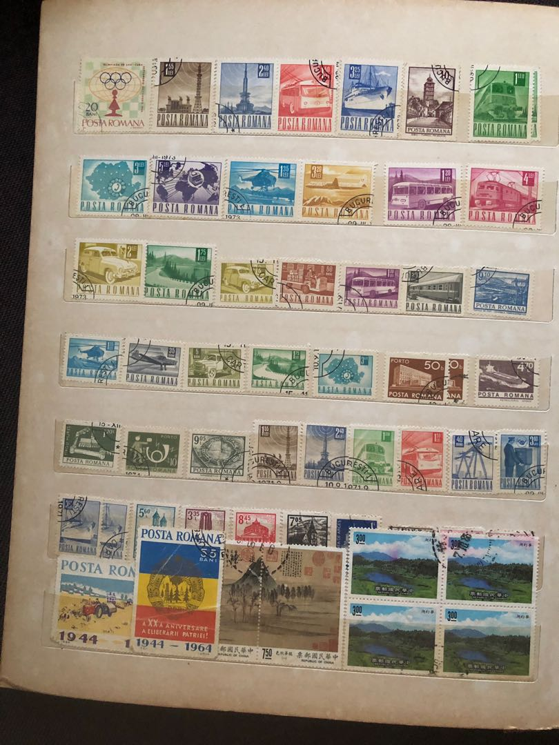 Stamps for over 30 years