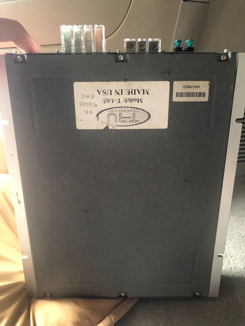 Tru technology amplifier