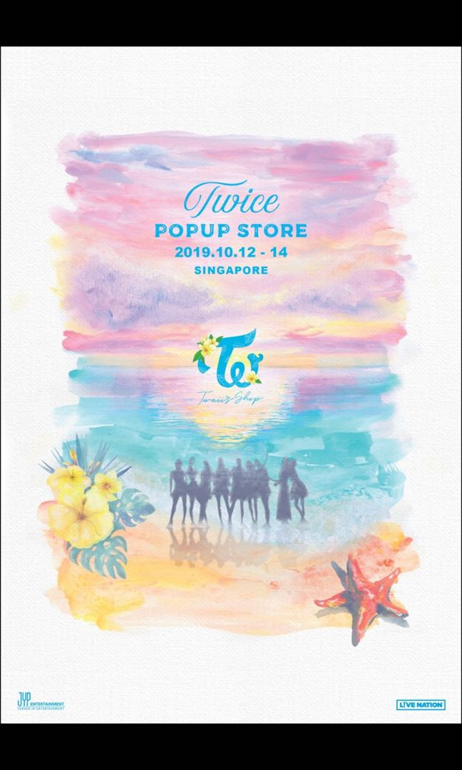 Twice PoP Up store [Twaii's shop] in Singapore