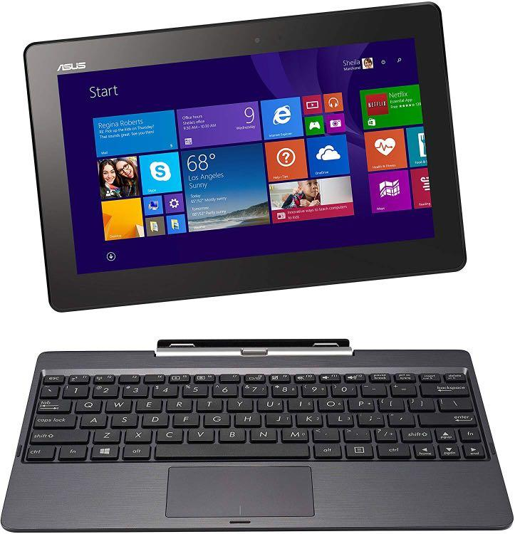 "Used ASUS Transformer Book 10.1"" Detachable 2-in-1 Touchscreen Laptop"