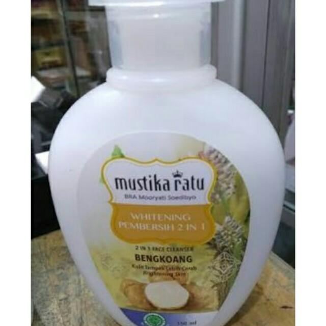 Whitening Pembersih 2 in 1 Mustika Ratu