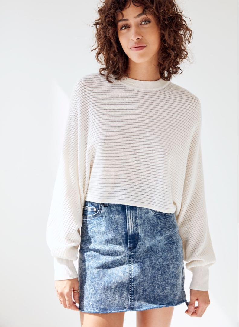 Wilfred Free Lolan Sweater - Size Small in Dune Blue