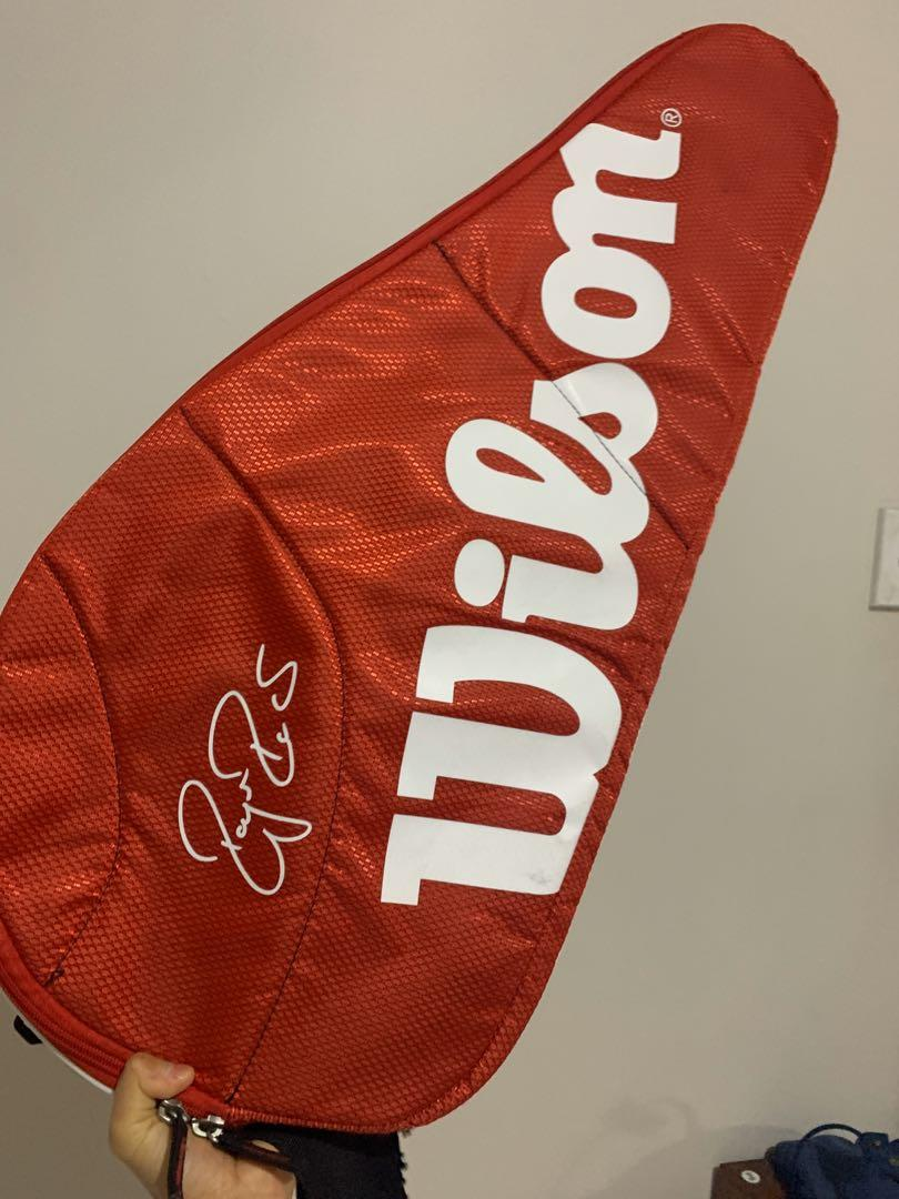 Wilson Roger Federer SIGNED Limited Edition Tennis Bag