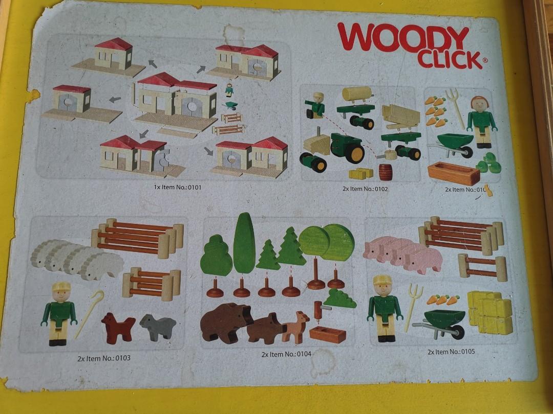 Wooden Toy - Farm Set