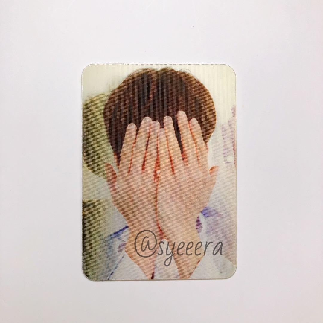 (WTS) Seventeen Director's Cut Album - Wonwoo Lenticular Card