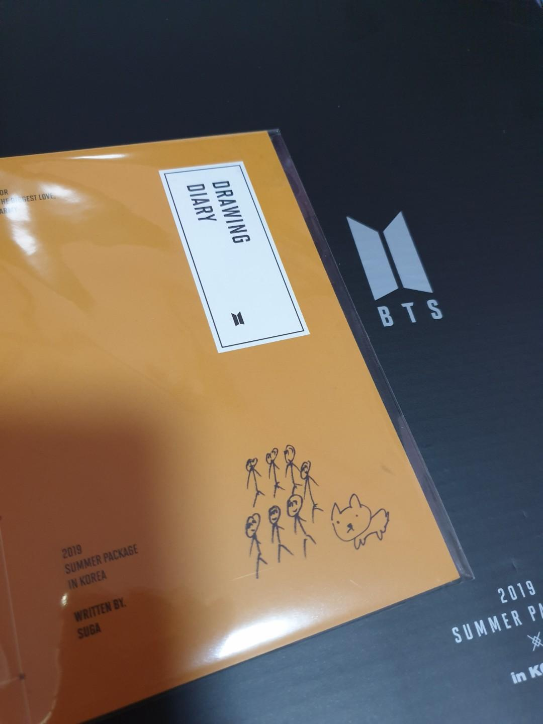 [WTT] BTS 2019 Summer Package Drawing Diary
