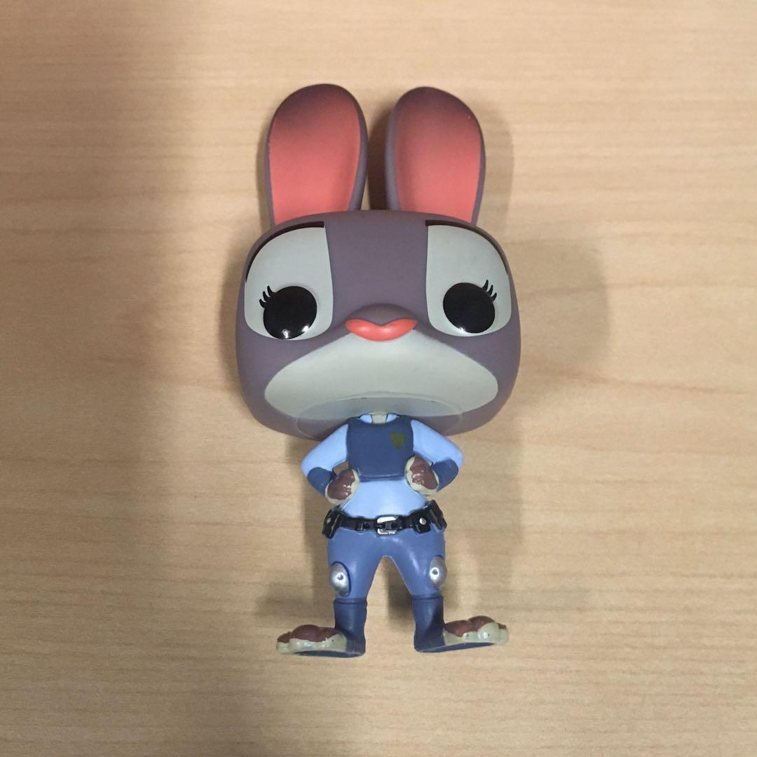 Zootopia Disney POP! Judy Hopps Vinyl Figure NO BOX #18sale