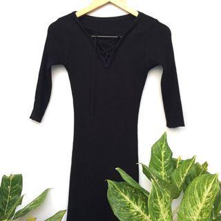 #VISITSINGAPORE Black Dress