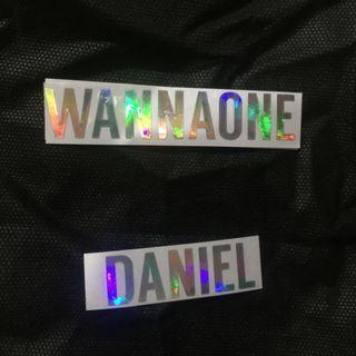 Sticker Holo WannaOne