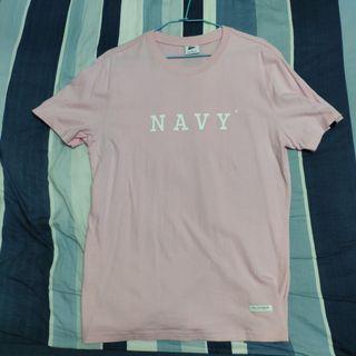 CACO Navy 短袖 短t 粉紅 粉色