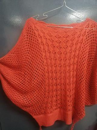 Knitted Top Orange