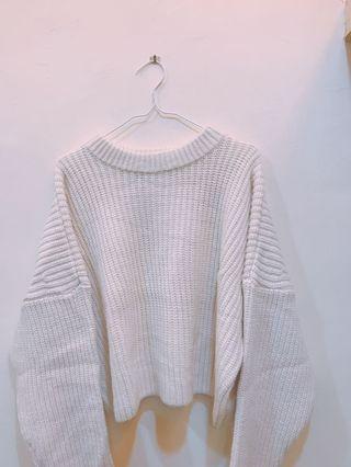H&M 基本款粗針織毛衣