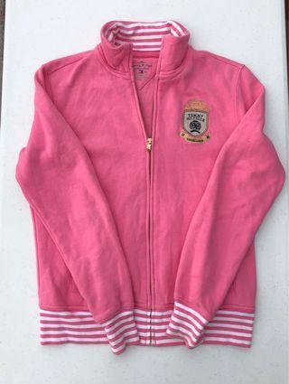 Pink Tommy Hilfiger Zip-up jacket