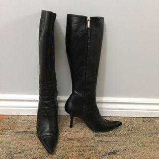 Loewe leather boots