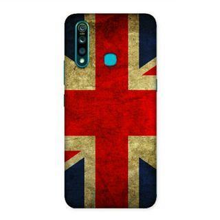 The English Flag Vivo Z1 Pro Custom Hard Case