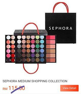 Sephora Makeup pallete all in one. Limited edition makeup kit.