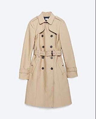 ZARA • Trench coat XS