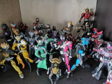 Kamen rider HG set