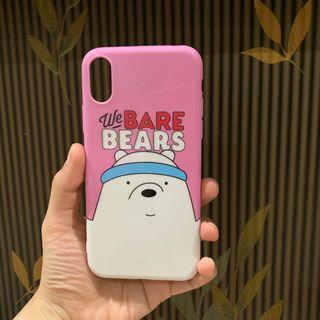 Case iPhone X iphone xs wbb we bare bears  #visitsingapore