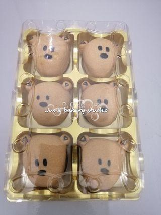 Mr. Bean's teddy bear pineapple tarts