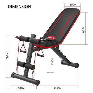 Gym Fitness Sit Up Bench Dumbell