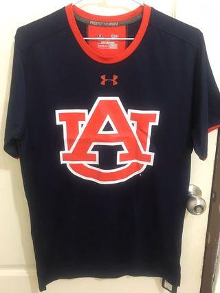 Auburn Tigers Under Armour Sideline Huddle Performance T-Shirt - Navy