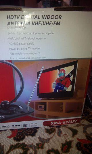 XMA HDTV Digital indoor antenna vhf /UHF/fm