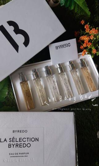 Byredo La Selection (travel size) full box