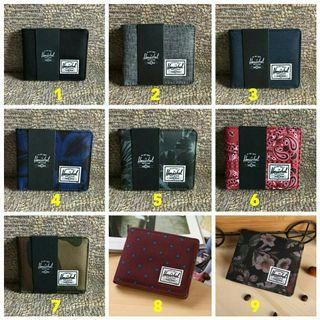 [READY STOCK] Gift Set Herschel Roy Wallet + Box and Packaging