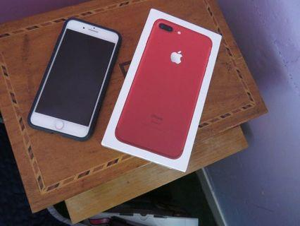 iPhone 7+ plus red edition