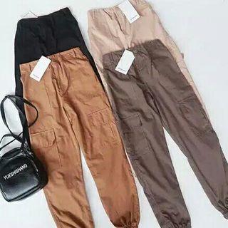 Jogger Pants Celana Wanita Stradivarius