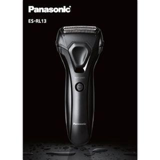 Panasonic 國際牌 ES-RL13 三刀頭 電動刮鬍刀 IPX7防水