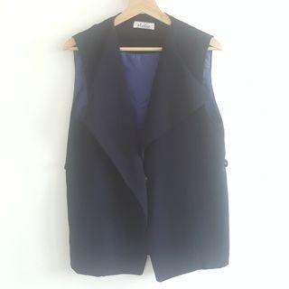 Navy Outer Vest