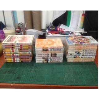 Manga Lebihan - Conan, Budak Getah, HXH