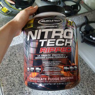 (SUPER MURAH) Nitrotech Ripped Whey Protein (4lbs)