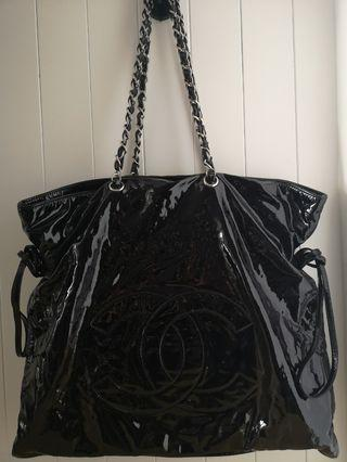 *Used* Chanel Patent leather tote bag