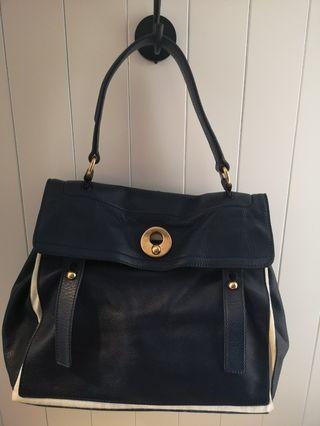 *Used* YSL Muse Two canvas tote bag