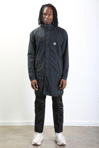 STONE ISLAND LAMY VELOUR PACKABLE COAT
